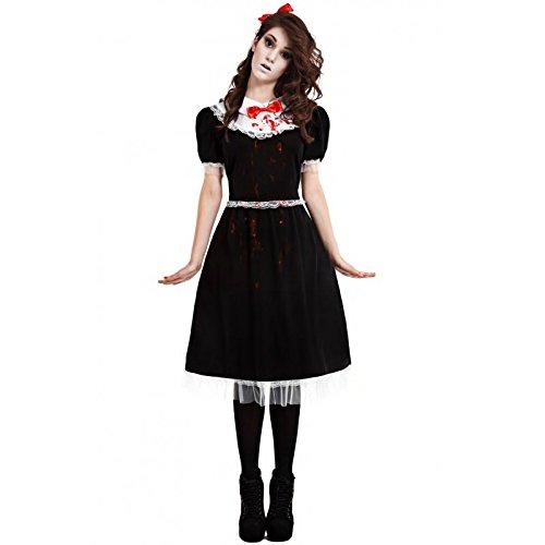 Imagen de disfraz muñeca de trapo gotica m l