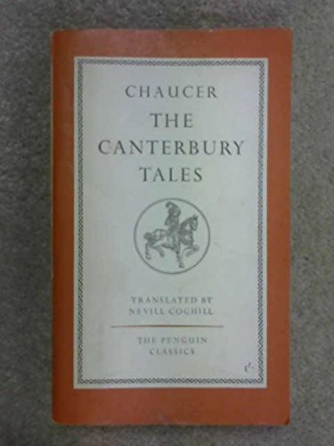The Canterbury Tales Anchor Books