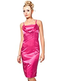 Celebrity style formal pink pleated dress strapless mini dress uk 10/12
