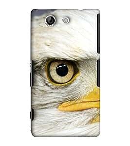 EagleHawk Designer 3D Printed Back Cover for Sony Xperia Z4 Mini - D1089 :: Perfect Fit Designer Hard Case