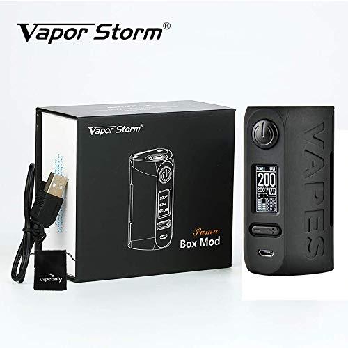 Cigarette électronique Vapor Storm Puma 200W TC MOD Graffiti Box Big Power Vape, Sans Liquide ni Nicotine (Noir)