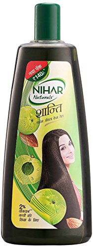 Nihar Naturals Shanti Badam Amla Hair Oil, 500ml