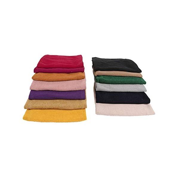 LAAT 1PCS Cuello de Bufanda Bufanda Multiusos Invierno De Las Bufandas De Cuello Collar Bufanda Cuello de Cuello de… 4