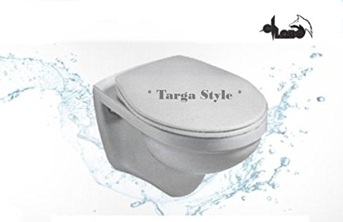 Villeroy&Boch Wand WC Omnia Targa Style Tiefspüler + Haro WC Sitz Softclose