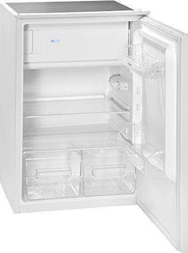 Bomann KSE 227.1 Einbau-Kühlschrank / A+ / Kühlen: 106 L / Gefrieren: 17 L / 88 cm Höhe