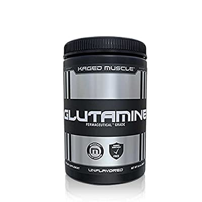 Kaged Muscle Glutamine Powder - Unflavored (500) by Kaged Muscle