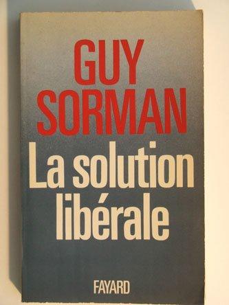 La solution libérale