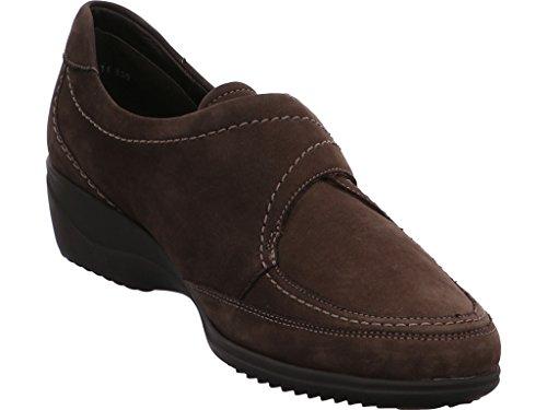 Ara Luzern 40606 femmes chaussures cuir brunes brunes