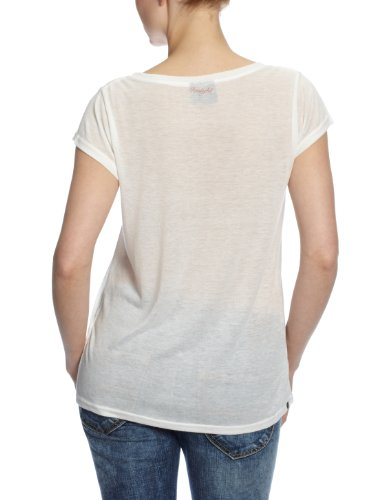 Insight t-shirt pour femme scoop femme Blanc - dusted
