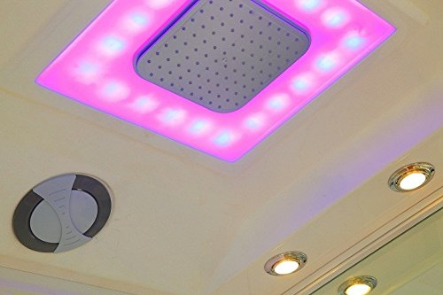 Home Deluxe White Luxory XL Duschtempel, inkl. Dampfsauna und komplettem Zubehör - 3