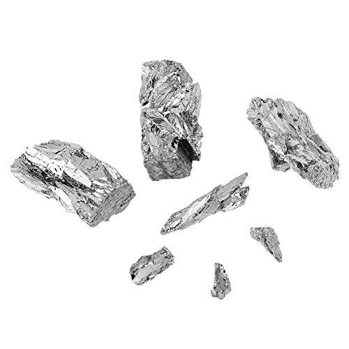 Wismut, 100g Bismut Metall Bismutgehalt ≥99,99% Weit Verbreitet in Halbleiter, Supraleiter, Flammschutzmittel, Elektronik, Keramik-Lampe usw
