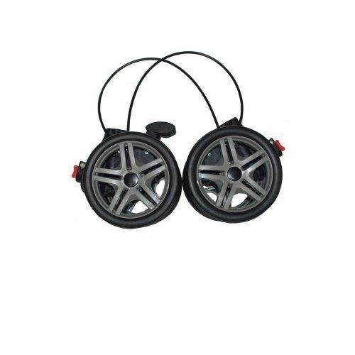 HARTAN Buggy ix1 Hinterradblock 05 mit Bremse und 4 Räder