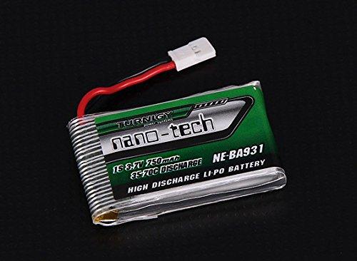 Turnigy nano Tech 750mAh Lipo Akku 1S 3,7V 35C-70C Nine Eagles Solo Pro 180 NE-BA931 uvm. von Modellbau Eibl