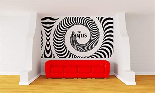 Adesivi da parete citazioni camera da letto soggiorno decorazioni parete sticker murale musicale citazione the beatles per la stanza delle ragazze dei ragazzi della stanza della musica