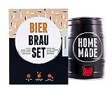 Bierbrauset Zum Selber Brauen - Weißbier im 5 Liter Fass - In 7 Tagen fertig Freund oder den Vater