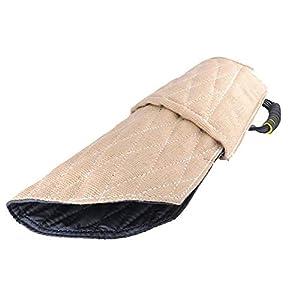 GLJY Protection de Bras de Dressage de crabot de Douille, Douille de Morsure de Dressage de Chien de Formation intermédiaire pour Le Chien Moyen Grand