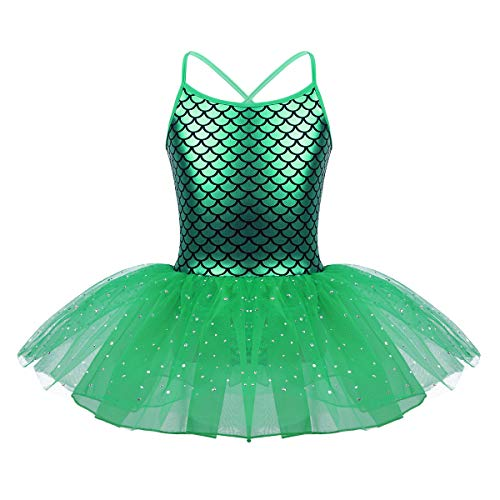 IEFIEL Vestido Danza Ballet Maillot Niña Tutu Vestido