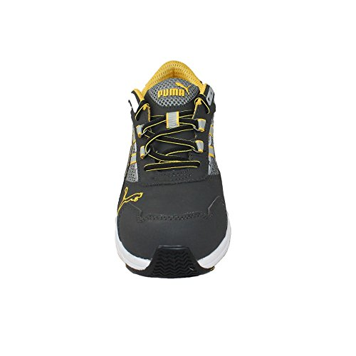 Puma chaussures de sécurité s1P hRO sRA sicherheitsschuh berufsschuhe businessschuhe chaussures chaussures plate Gris - Gris