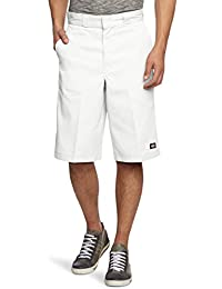 Dickies Multi-pocket Work, Short Homme, Blanc (White), Taille unique (Taille fabricant: 31)