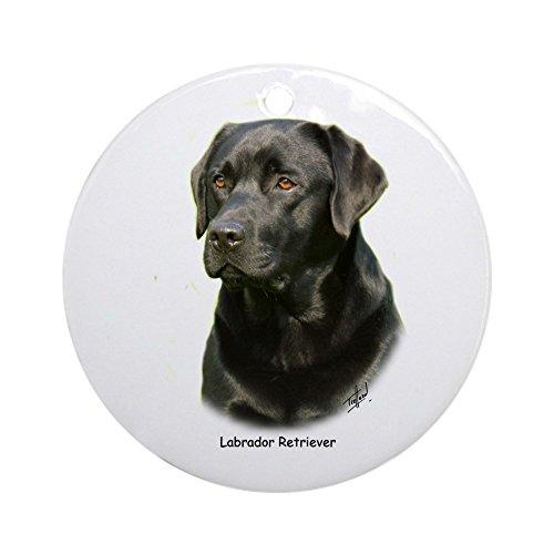(CafePress–Labrador Retriever 9Schmuck a054d-23a (rund)–Rund Urlaub Weihnachten Ornament)