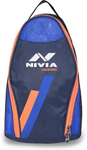 Nivia 5191 Dominator Polyester Shoes Bag (Blue)