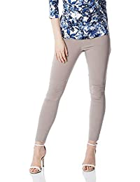 7715d94e164 Roman Originals Women Stretch Pull On Straight Trousers - Ladies Bengaline  Fitted Elasticated Casual Evening Work