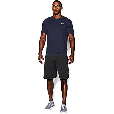 Under Armour Ua Tech Ss Tee, Camiseta De Fitness Hombre, Azul (Midnight Navy/White), M