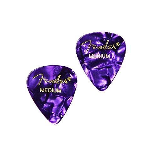 Manschettenknöpfe Gitarre Plektrum violett–Geschenk für Musiker–Geschenk für Lehrer–Geschenk-Box enthalten