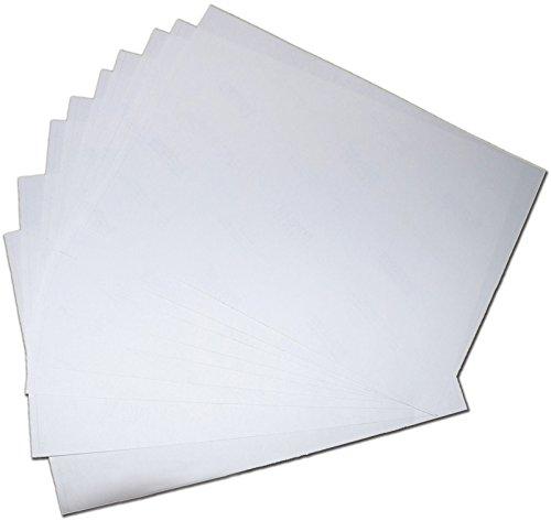 Qualität A4weiß matt selbstklebend Inkjet Laser Druck Adresse Mehrzweck-Aufkleber Papier-1000Blatt - Inkjet-speicher
