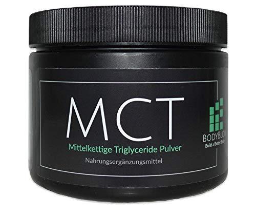 MCT Pulver auf Kokosbasis 100% Vegan mit Akazienfaser I ketogene Diät I Intermittierendes Fasten I Bulletproof Coffee I (geschmacksneutral 1x 250 g) -