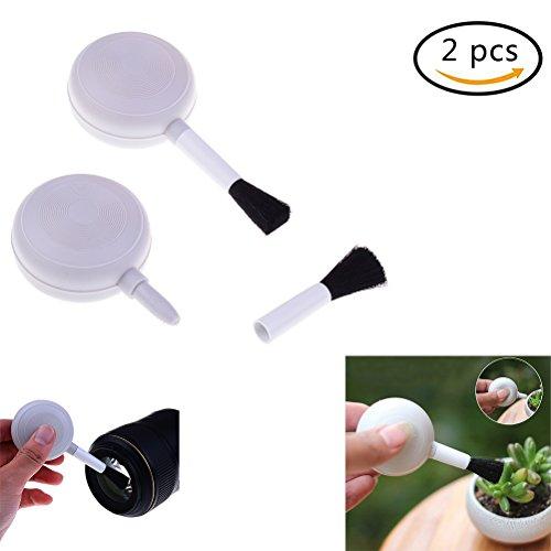 37yimu Objektiv Abnehmbar Bürste Reinigung Kit, 2PCS Gebläse Air Pinselreiniger für Digitalkameras Objektiv (2 Gebläse-kit)