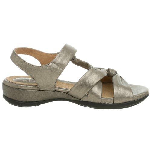 Clarks Lucena Sandalo Pewter Metallic
