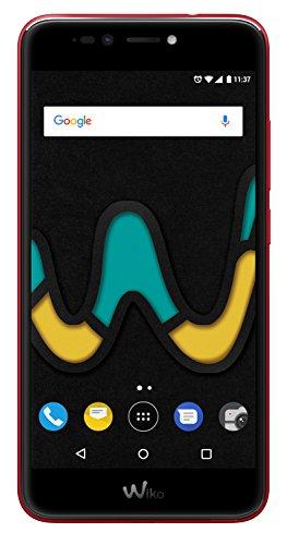 Wiko U Pulse Cherry Red (Smartphone, 5,5 Zoll HD, 13 MP Kamera, 8MP Selfie-Kamera, Android, Fingerabdruck, 32GB ROM/3GB RAM, Quad-Core CPU, 4G, Dual-SIM, Speicher erweiterbar um bis zu 128GB, Cherry Red)