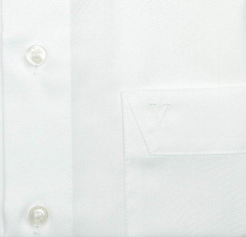 MARVELiS - Camicia 7970, a meza maniche, non si stropiccia - 00-weiss