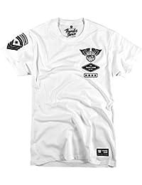 Pulgares Down Kickboxing Camiseta Pesado Peso. Rígido Entrenamiento. MMA. Gimnasio Entrenamiento. Artes Marciales RxMk1ys