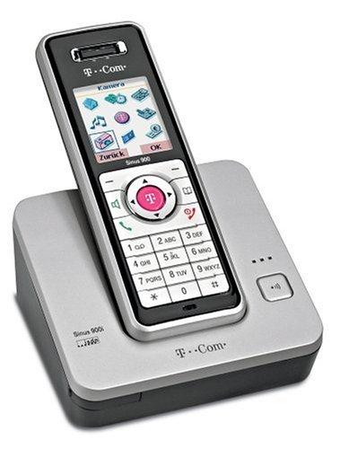 T-Com Sinus 900i ISDN schnurloses Telefon mit integrierter VGA-Kamera
