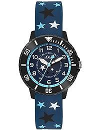 s.Oliver Time Jungen-Armbanduhr SO-3407-PQ