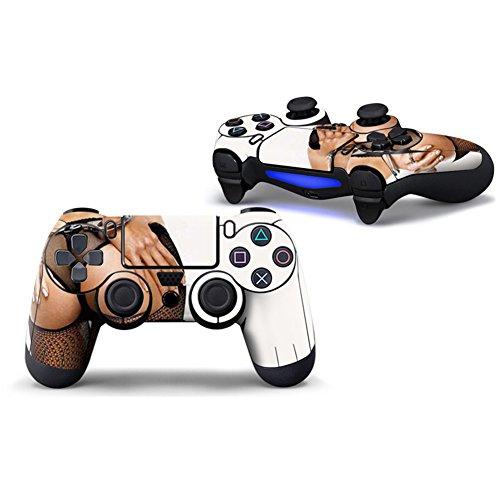 stillshine PS4Vinyl Skin Sticker Aufkleber Full Body Cover für Sony PlayStation 4PS4Slim PS4Pro Dualshock Controller X 1