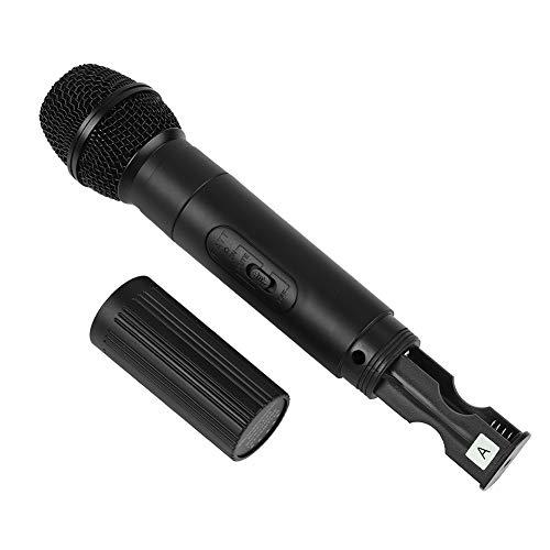 Denash Micrófono inalámbrico Receptor Frecuencia
