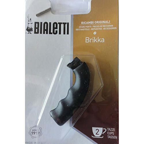 Bialetti Brikka - Spare Handle - Replacement Part Suitable for 2 Cup Bialetti Brikka Espresso Maker...