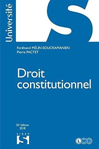 Droit constitutionnel - 36e
