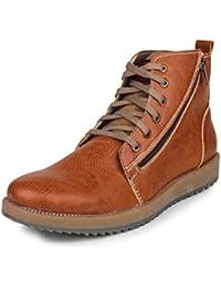 Pede Milan Boots for Men PM-LS-5211-Tan