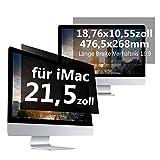 """C1st Displayfilter Blickschutzfilter Bildschirm Displayschutz Sichtschutz 16:9 Compatible with iMac 21,5"""" Zoll 18,76x10,55zoll/476,5x268mm Anti Spy Schutz"""