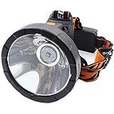 Genwiss Cree XML-T6 3000 lúmenes 90 grados de rotación de plástico Pantalla hacer Light Más suave faro para Camping Caza Pesca Ciclismo Equitación Caminar (no incluir las baterías y cargador)