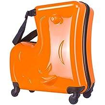 Children - Maleta con ruedas para carrito de bebé 24inch Orange 24inch Orange