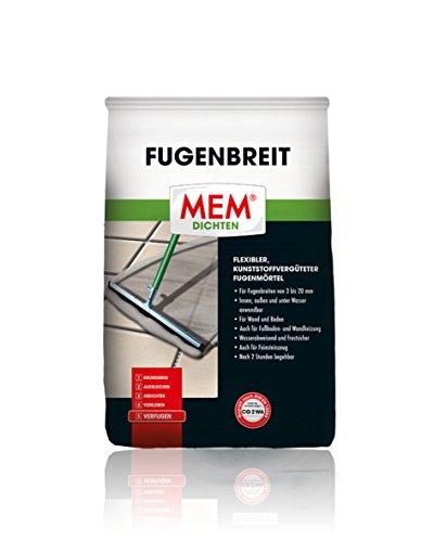 MEM Fugenbreit anthrazit 5 kg