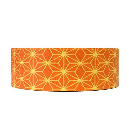 wrapables-colorful-patterns-washi-masking-tape-tangerine-starburst