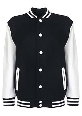 Minamo Keep Calm and Support Chile Varsity Jacket - Black - 3/4 Years