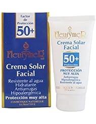 Piscine de Fleurymer Crème solaire visage SPF-50Tube 80ml