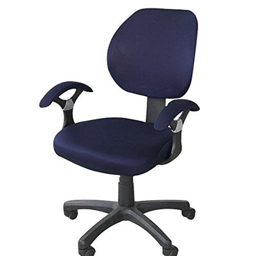 dongfang (begriffsklärung) dehnbar umfasst die abnehmbarer Sessel Schonbezug Elastic Displayschutzfolie für Drehstuhl Bürostuhl LW001Drehstuhl Computer Stuhl Armlehnen Stuhl, Spandex, Navy(cover Only, Not Include Chair), - Navy Stuhl Computer
